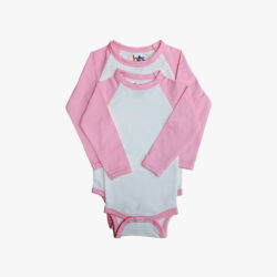 Pink Baby Body Suit