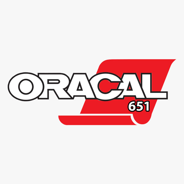 photo regarding Oracal Inkjet Printable Vinyl named Oracal 651 Shiny Adhesive Vinyl - 12\